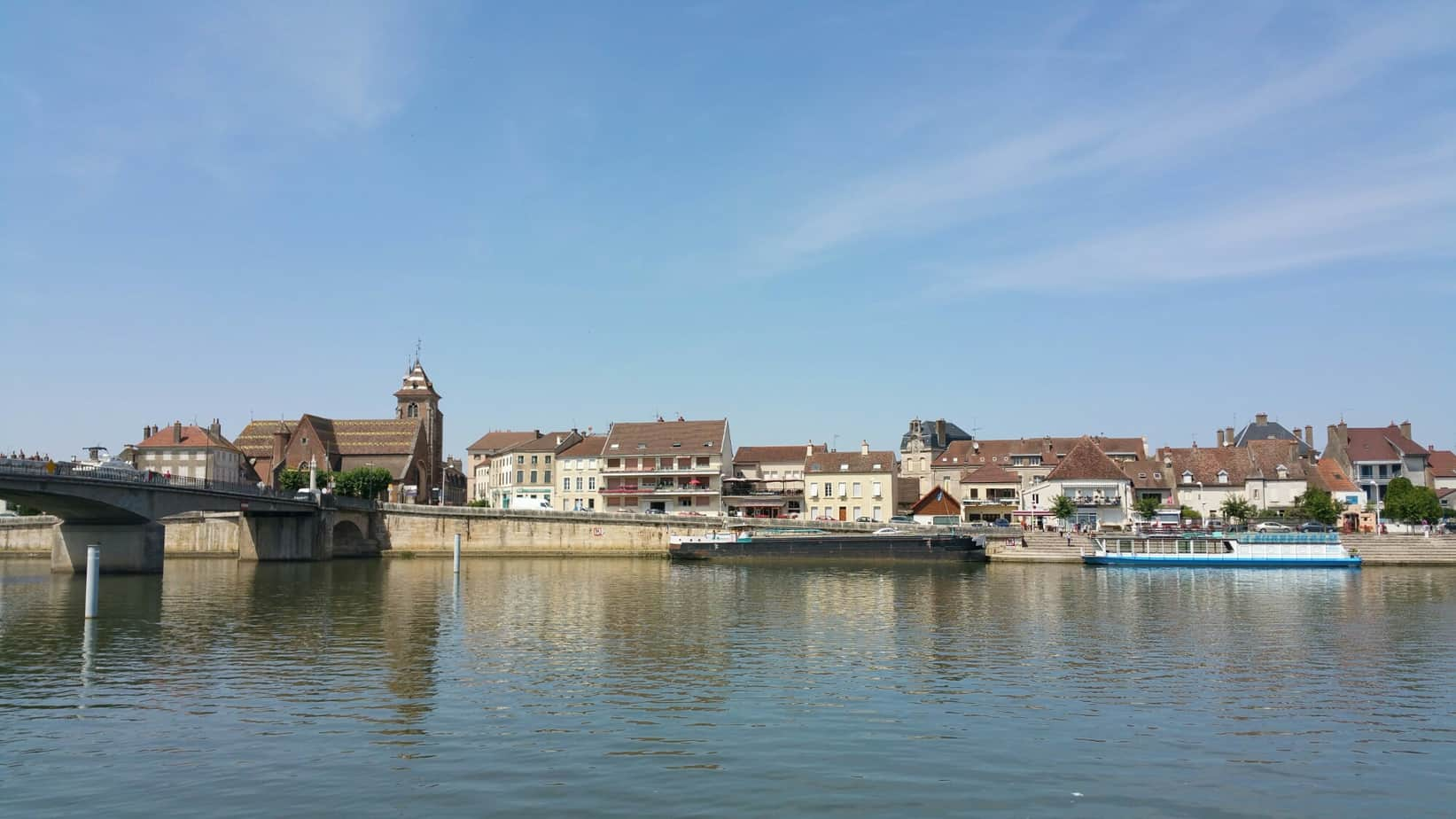 Chaumont to Villegusien-le-Lac and on to Chalons Sur Saone