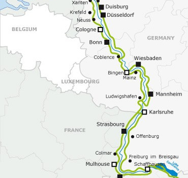 Cycle the Rhine